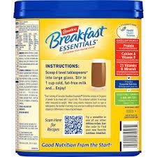 carnation breakfast essentials rich milk chocolate complete