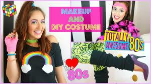 80 u0027s inspired halloween makeup u0026 diy costume trending with tori