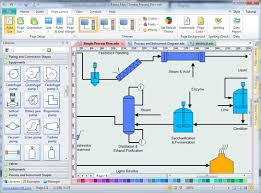 easy process and instrumentation drawing software