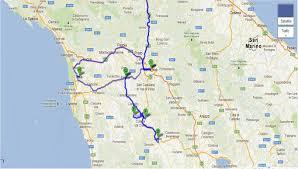 Tuscany Map 10 Siena San Gimignano And Pisa Italy Tuscany Trip 9 U2013 Part 2