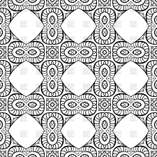 Seamless Pattern Made Of Infinity Sign And Square Page Of