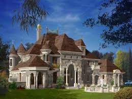 chateau style homes house chateau style plans home cre traintoball