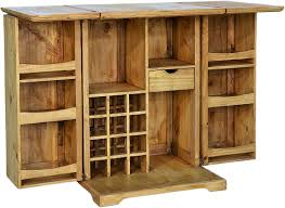 Mexican Pine Bookcase Mexican Pine Wood Bar