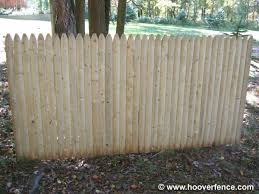 4 Ft Fence Panels With Trellis Spruce Stockade Fence Panel Information Hoover Fence Co