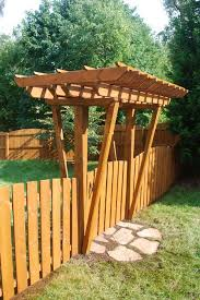 Pergola Backyard Ideas Small Pergola U2013 Pressure Treated Lumber With Twp Stain By