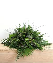 how to make a casket spray about walter knoll florist s all greenery casket spray