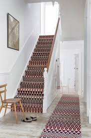 How To Put Rug On Stairs by Best 25 Patterned Carpet Ideas On Pinterest Stairway Stair