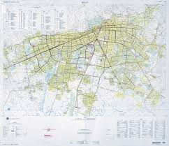 Dma Map Large Scale Detailed Roads Map Of Bogota City With All Buildings