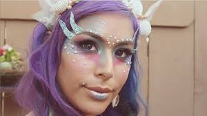 siren mermaid makeup tutorial youtube