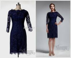 blue lace dress navy blue lace dress 3 4 sleeve naf dresses
