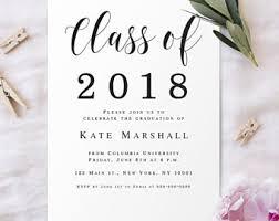 college graduation announcements templates college graduation announcement etsy