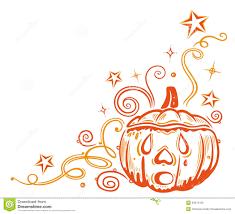 halloween pumpkin borders special offers
