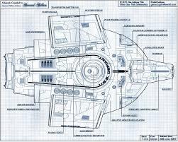 star trek enterprise floor plans defiantbprint spaceship fashion pinterest deep space