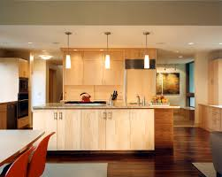 natural maple kitchen cabinets kitchen contemporary with none