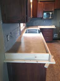 Can I Lay Vinyl Over Laminate Flooring Diy Concrete Counters Poured Over Laminate Averie Lane Diy
