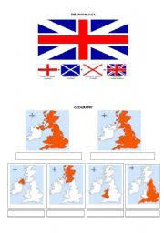 english worksheet geography of the u k and great britain