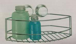 croydex stick n lock bathroom storage basket no drilling easy