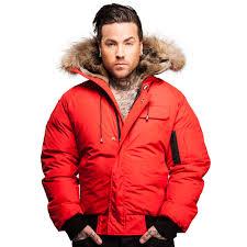 er jacket men saint sauveur arctic north red clothingmonster