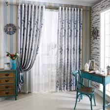 Blue Curtain Designs Living Room Online Get Cheap Blue Drapes Aliexpress Com Alibaba Group