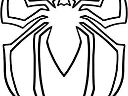 spiderman symbol outline image mag
