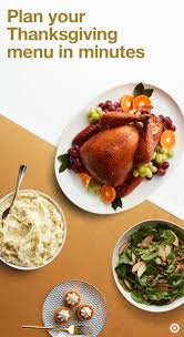 pull together your thanksgiving menu in no time with by taking our