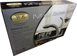 water ridge patrician series kitchen faucet brushed nickel