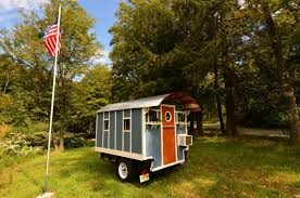 10ft micro cabin on wheels by tiny industrial for sale