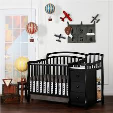 Cribs With Changing Tables Attached Modern Crib With Changing Table Attached Designs Oo Tray Design
