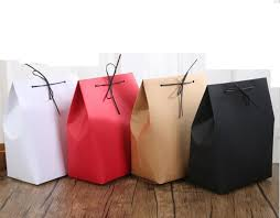 christmas paper bags hot selling 10pcs lot christmas birthday kraft paper bags