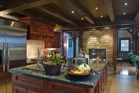 Dark Kitchen Cabinets With Backsplash Rosewood Driftwood Raised Door Kitchen Ideas Dark Cabinets