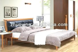 Buy Bed Frame Leather Headboard Bed Frame Wood And Leather Headboard Rubber Wood