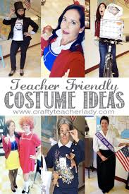 crafty teacher lady teacher friendly halloween costume ideas