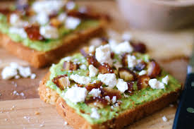 avocado toast recipe with dates and feta mmm sazan