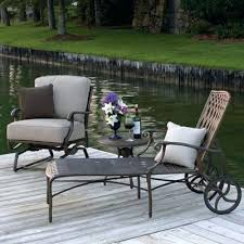summer patio furniture cast iron lounge chairs cast iron patio