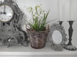 Wohnzimmer Deko Shabby Shabby White And More Von Schneeglöckchen Und Dem Frühling