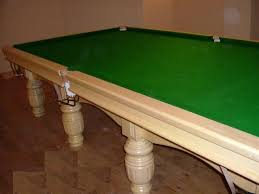 full size snooker table full size snooker table in willow wood