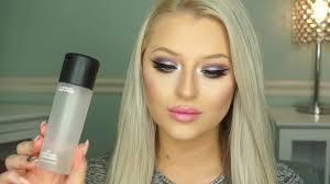 barbie inspired makeup tutorial pastel eyes pink lips you