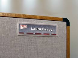 Desk Plates For Offices Nameplates For Cubicles Name Plate Holders Wall Mounts Desk Bases