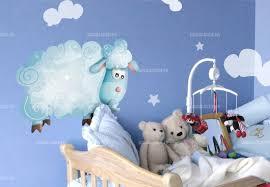 stickers mouton chambre bébé sticker mouton