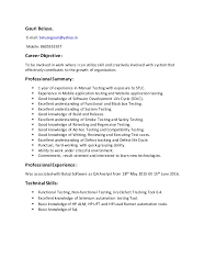 Testing Tools Resume For Experienced Difference Between Cv And Resume In Canada Popular Essay