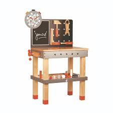 cuisine en bois jouet janod etabli en bois janod for établi en bois