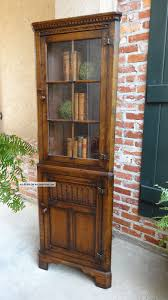 Tall Corner Display Cabinet Corner Stands With Shelves For Living Room And Corner Bathroom