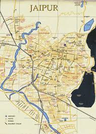 Best Map Detailed City Map Of Jaipur Street Map