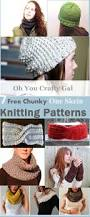 oh you crafty gal 7 free one skein chunky knitting patterns that
