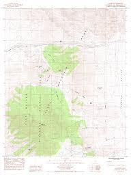 San Diego Mts Map by Topographic Maps Of San Bernardino County California