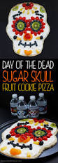 picture of a halloween skeleton healthy day of the dead sugar skull fruit pizza growing up bilingual