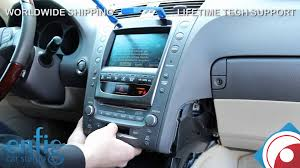 lexus gs 2007 2008 ipod iphone aux install and demo youtube