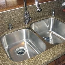 undermount double kitchen sink undermount kitchen sinks review the kitchen blog