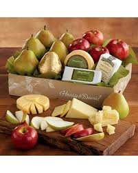 cheese gift baskets check out these hot deals on deluxe pears apples and cheese gift
