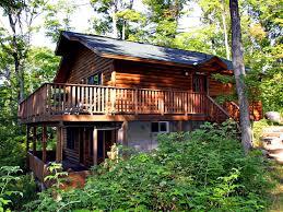 St Joseph Home by Lovely Lakefront Log Cottage On St Joseph Vrbo